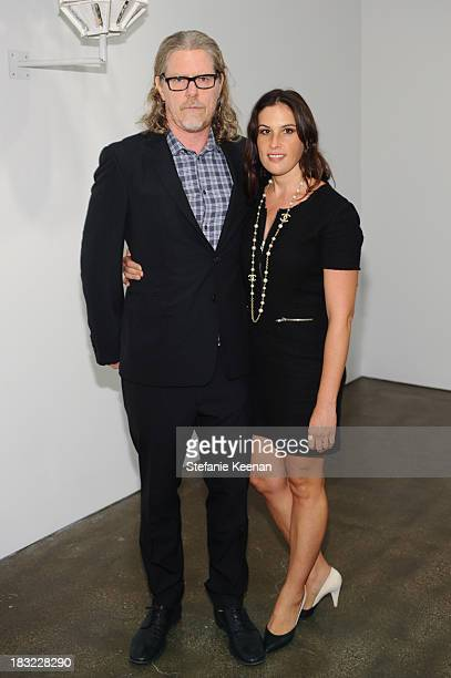 Mark Grotjahn and Jennifer Guidi attends Hammer Museum 11th Annual Gala In The Garden With Generous Support From Bottega Veneta October 5 Los Angeles...