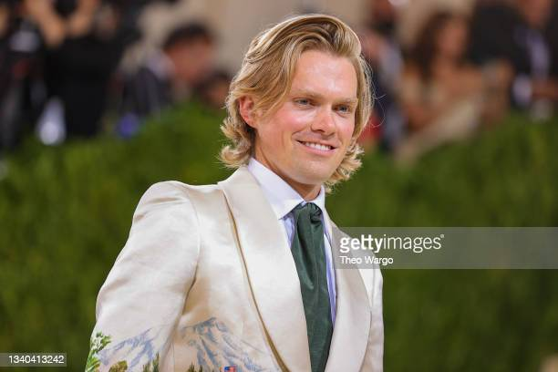 Mark Guiducci attends The 2021 Met Gala Celebrating In America: A Lexicon Of Fashion at Metropolitan Museum of Art on September 13, 2021 in New York...