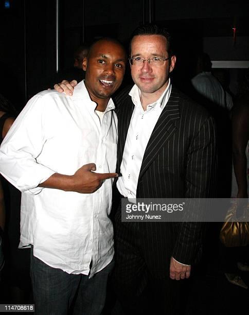 Mark Gumbel and Francois Henry Bennahmias CEO of Audemars Piguet North America Inc
