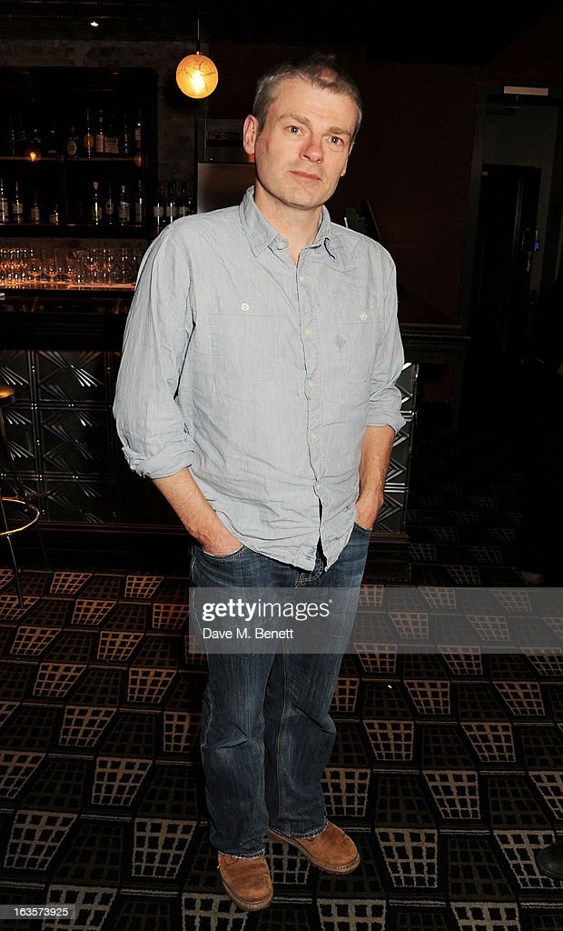 Mark Haddon attends an after party celebrating the press night performance of 'The Curious Incident of the Dog in the Night-Time' at Century on March 12, 2013 in London, England.