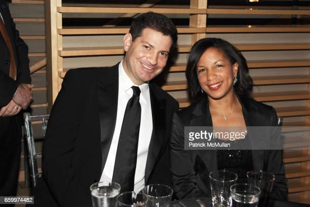 Mark Halprin and Dr Susan Rice attend TIME MAGAZINE'S 100 MOST INFLUENTIAL PEOPLE 2009 at Jazz At Lincoln Center on May 5 2009 in New York City