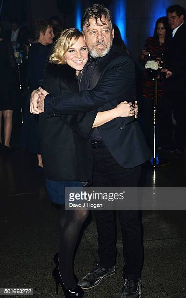 Mark Hamill and daughter Chelsea attend the European Premiere of Star Wars The Force Awakens After Party at Tate Britain on December 16 2015 in...