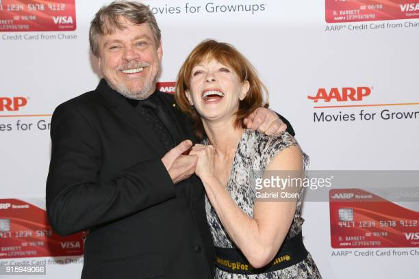 Mark Hamill and Frances Fisher attend AARP The Magazine's 17th Annual Movies For Grownups Awards at the Beverly Wilshire Four Seasons Hotel on...