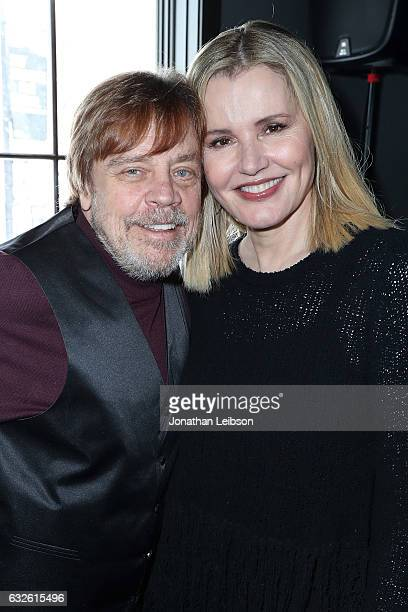 Mark Hamill and Geena Davis attend the Creators League Studio At 2017 Sundance Film Festival Day 6 on January 24 2017 in Park City Utah