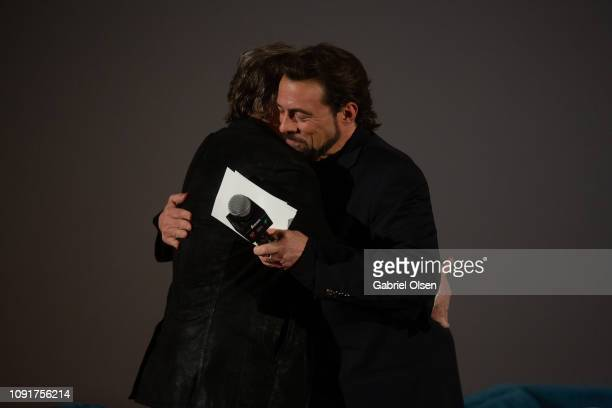 Mark Hamill and Kevin Smith attend Excelsior A Celebration of The Amazing Fantastic Incredible and Uncanny Life Of Stan Lee at TCL Chinese Theatre on...