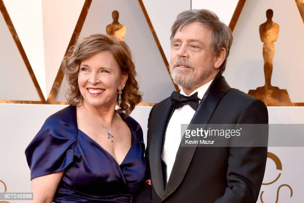 Mark Hamill and Marilou Hamill attend the 90th Annual Academy Awards at Hollywood Highland Center on March 4 2018 in Hollywood California