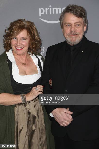 Mark Hamill and Marilou York attend the 20th CDGA on February 20 2018 in Beverly Hills California
