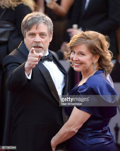 Mark Hamill and Marilou York attend the 90th Annual Academy Awards at Hollywood & Highland Center on March 4, 2018 in Hollywood, California.