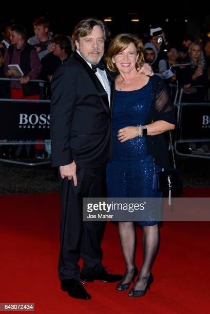 Mark Hamill and Marilou York attend the GQ Men Of The Year Awards at Tate Modern on September 5 2017 in London England
