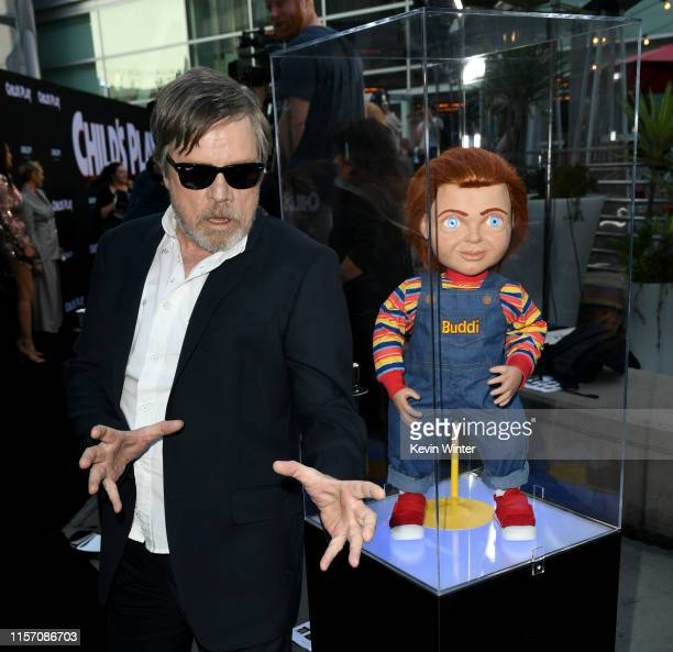 Mark Hamill arrives at the premiere of Orion Pictures and United Artists Releasing Child's Play at ArcLight Hollywood on June 19 2019 in Hollywood...