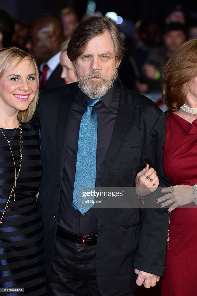Mark Hamill arrives for the European Premiere of 'Batman V Superman: Dawn Of Justice' at Odeon Leicester Square on March 22, 2016 in London, England.