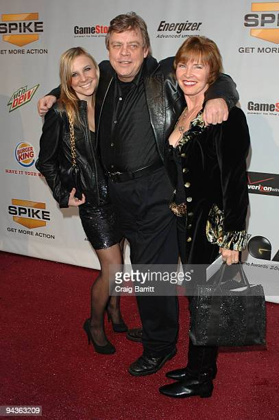 Mark Hamill arriving at Spike TV's 7th Annual Video Game Awards at Nokia Theatre L.A. Live on December 12, 2009 in Los Angeles, California.