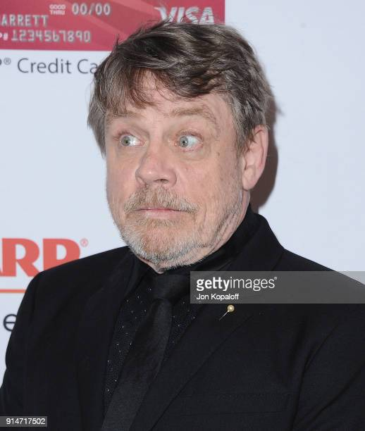 Mark Hamill attends AARP's 17th Annual Movies For Grownups Awards at the Beverly Wilshire Four Seasons Hotel on February 5 2018 in Beverly Hills...