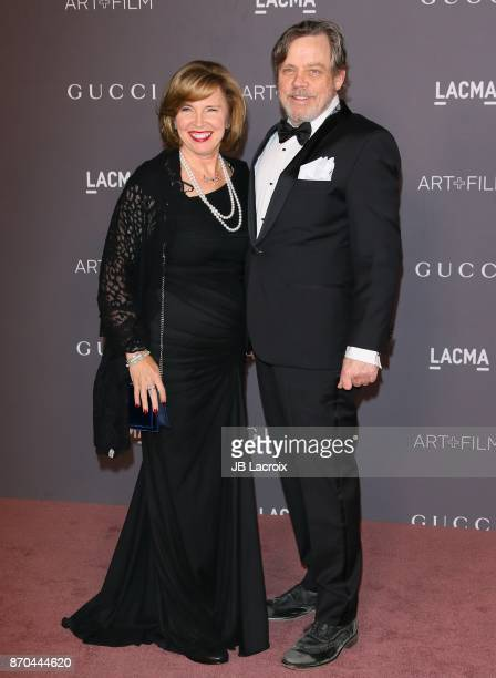 Mark Hamill attends the 2017 LACMA Art Film Gala Honoring Mark Bradford and George Lucas presented by Gucci at LACMA on November 4 2017 in Los...