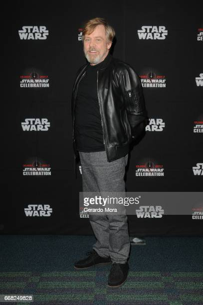 Mark Hamill attends the 40 Years of Star Wars panel during the 2017 Star Wars Celebrationat Orange County Convention Center on April 13 2017 in...