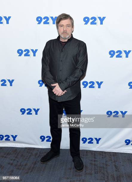 Mark Hamill attends the 92nd Street Y Present Mark Hamill And Frank Oz at 92nd Street Y on March 23 2018 in New York City