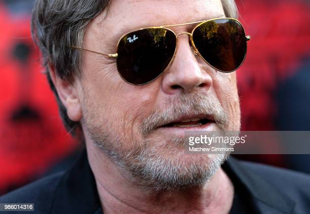 Mark Hamill attends the Academy Of Science Fiction Fantasy Horror Films' 44th Annual Saturn Awards at The Castaway on June 27 2018 in Burbank...