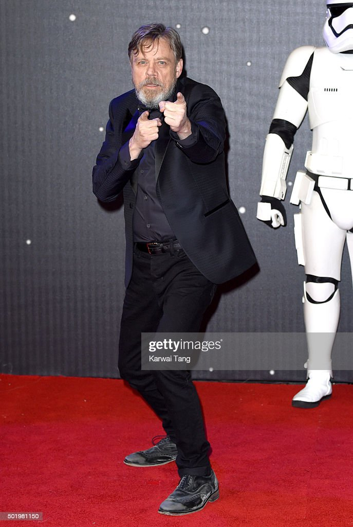 """Star Wars: The Force Awakens"" - European Film Premiere - Red Carpet Arrivals"