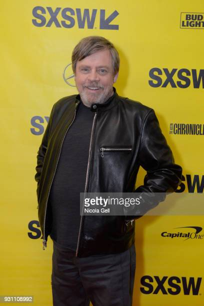Mark Hamill attends the Journey to Star Wars panel during SXSW at Austin Convention Center on March 12 2018 in Austin Texas