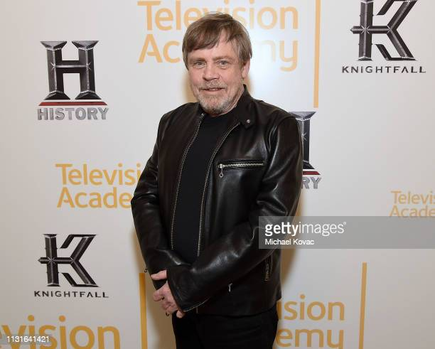 Mark Hamill attends the Knightfall For Your Consideration Event in Los Angeles on March 19 2019 in Los Angeles California
