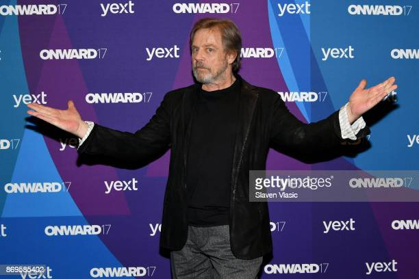 Mark Hamill attends the ONWARD17 Conference Day 2 on November 2 2017 in New York City