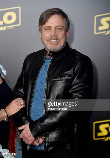 Mark Hamill attends the premiere of Disney Pictures and Lucasfilm's 'Solo A Star Wars Story' at the El Capitan Theatre on May 10 2018 in Los Angeles...