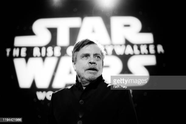 Mark Hamill attends the Premiere of Disney's Star Wars The Rise Of Skywalker on December 16 2019 in Hollywood California