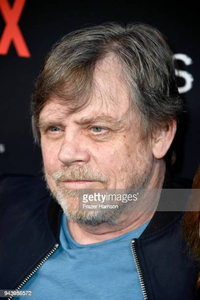 Mark Hamill attends the premiere of Netflix's 'Lost In Space' Season 1 at The Cinerama Dome on April 9 2018 in Los Angeles California