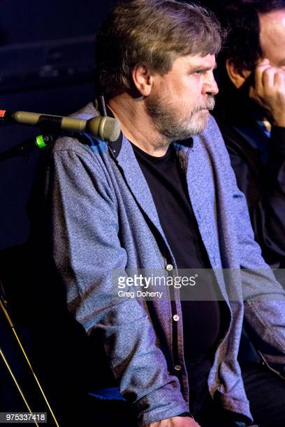 Mark Hamill attends The Quick In Conversation With Mark Hamill Earl Mankey And Lisa Fancher at Beyond Baroque Literary Arts Center on June 14 2018 in...