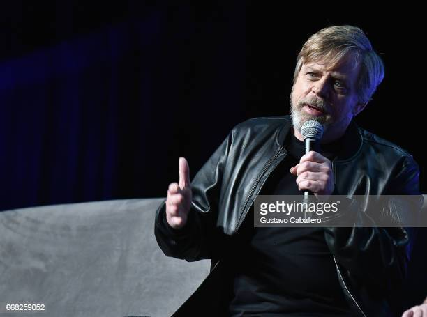Mark Hamill attends the Star Wars Celebration Day 1 on April 13 2017 in Orlando Florida
