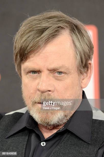 Mark Hamill attends the 'Star Wars The Last Jedi' photocall at Corinthia Hotel London on December 13 2017 in London England