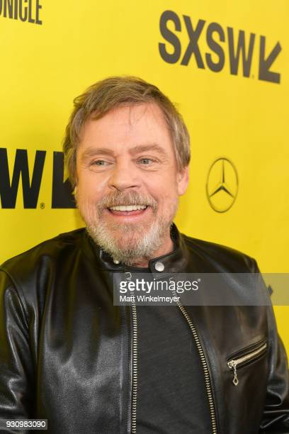 Mark Hamill attends the 'The Director and The Jedi' Premiere 2018 SXSW Conference and Festivals at Paramount Theatre on March 12 2018 in Austin Texas