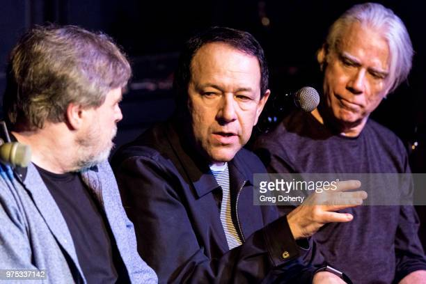 Mark Hamill Danny Benair Earle Mankey attend The Quick In Conversation With Mark Hamill Earl Mankey And Lisa Fancher at Beyond Baroque Literary Arts...