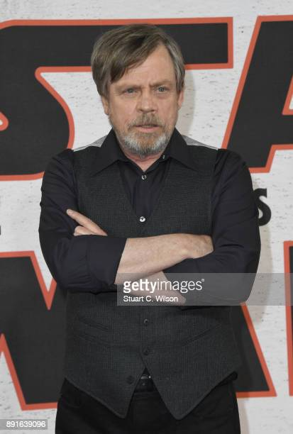 Mark Hamill during the 'Star Wars The Last Jedi' photocall at Corinthia Hotel London on December 13 2017 in London England