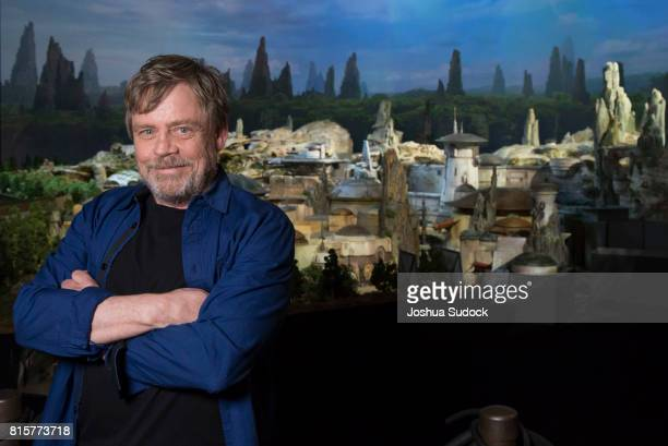 PARKS STAR WARS GALAXYS EDGE AT D23 EXPO Mark Hamill from the upcoming film Star Wars The Last Jedi was among the first to see a fully detailed model...