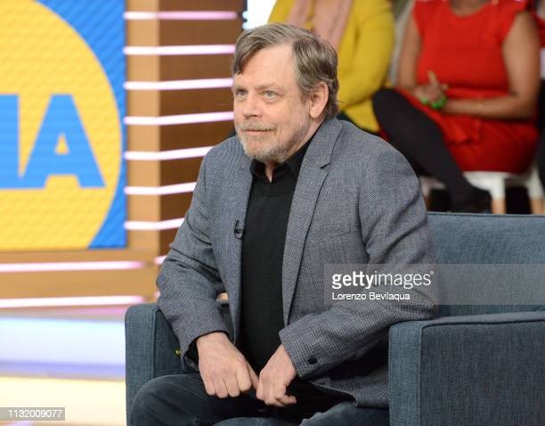 Mark Hamill is a guest on 'Good Morning America' Friday March 22 airing on the ABC Television Network GMA19