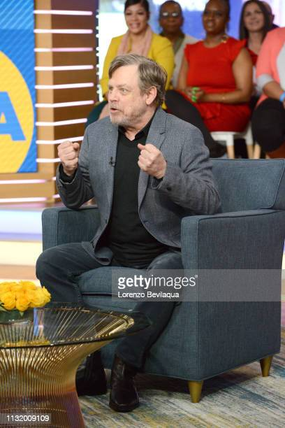 Mark Hamill is a guest on 'Good Morning America' Friday March 22 airing on the ABC Television Network GMA19 MARK