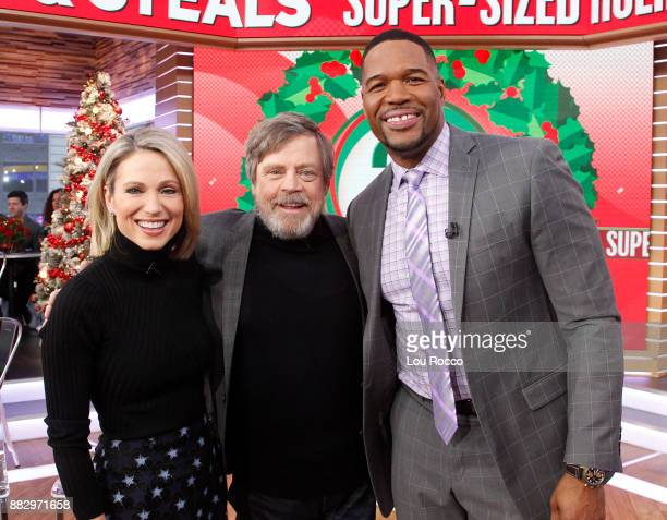 AMERICA Mark Hamill is a guest on Good Morning America Thursday November 30 airing on the Walt Disney Television via Getty Images Television Network...