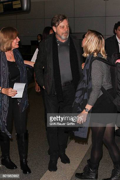 Mark Hamill is seen at LAX on December 18 2015 in Los Angeles California