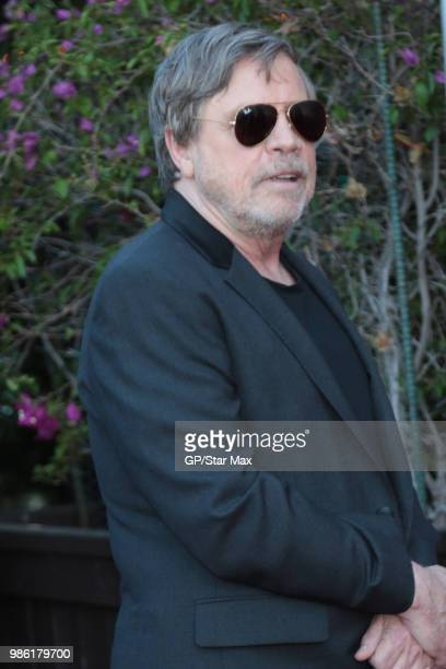 Mark Hamill is seen on June 27 2018 in Los Angeles CA