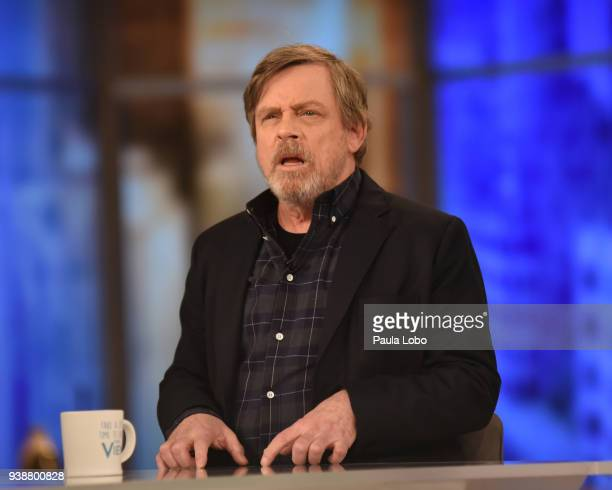THE VIEW Mark Hamill is the guest Tuesday 3/27/18 on Walt Disney Television via Getty Images's The View The View airs MondayFriday on the Walt Disney...