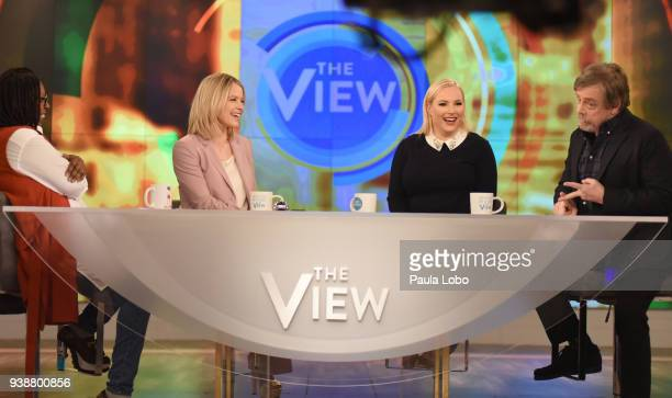 THE VIEW Mark Hamill is the guest Tuesday 3/27/18 on ABC's 'The View' 'The View' airs MondayFriday on the ABC Television Network HAMILL