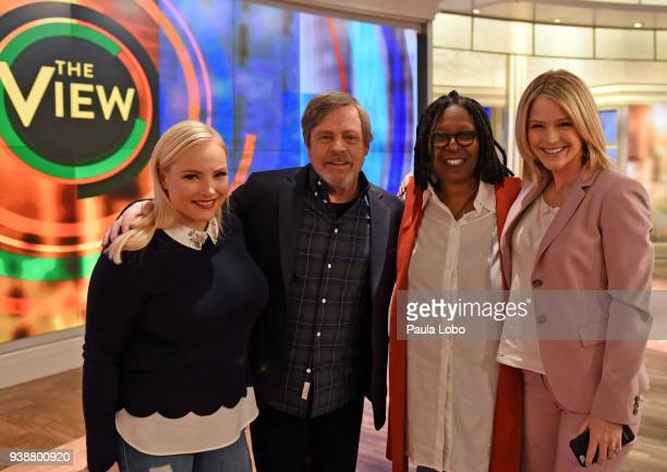 THE VIEW Mark Hamill is the guest Tuesday 3/27/18 on ABC's 'The View' 'The View' airs MondayFriday on the ABC Television Network HAINES