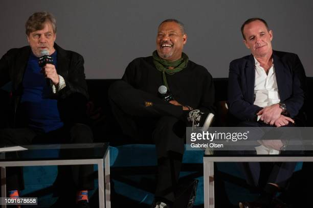 Mark Hamill Laurence Fishburne and Clark Gregg attend Excelsior A Celebration of The Amazing Fantastic Incredible and Uncanny Life Of Stan Lee at TCL...