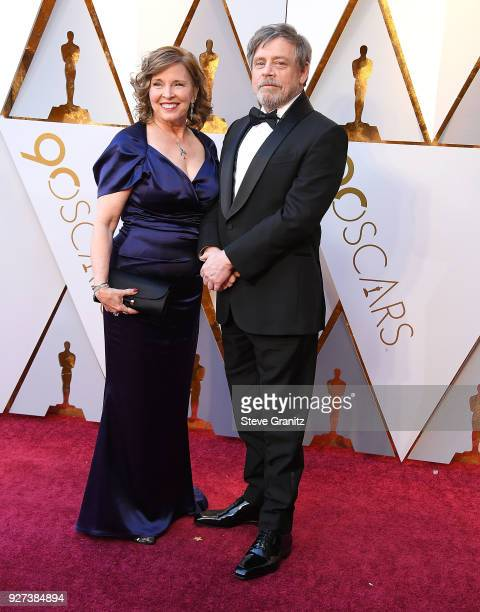 Mark Hamill Marilou Hamill arrives at the 90th Annual Academy Awards at Hollywood Highland Center on March 4 2018 in Hollywood California