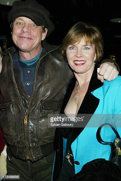 Mark Hamill Mary Lou Hamill during Miramax Premiere of Jersey Girl at Ziegfeld Theater Hard Rock Cafe in New York New York United States