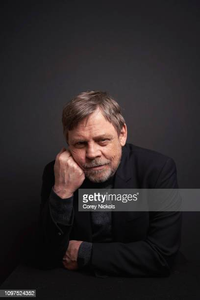 Mark Hamill of History's 'Knightfall' poses for a portrait during the 2019 Winter TCA at The Langham Huntington Pasadena on February 10 2019 in...