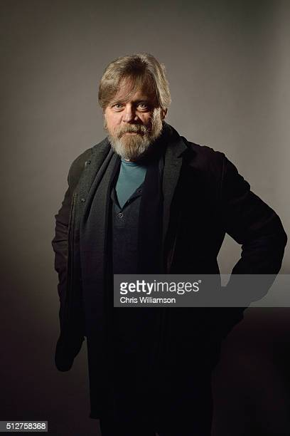 Mark Hamill poses before addressing the Cambridge Union at The Cambridge Union on February 27 2016 in Cambridge Cambridgeshire The Cambridge Union...