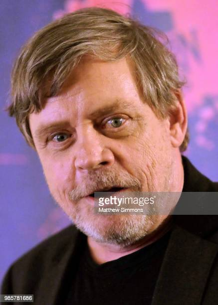 Mark Hamill poses in the press room at the Academy Of Science Fiction Fantasy Horror Films' 44th Annual Saturn Awards at The Castaway on June 27 2018...