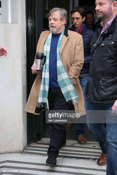 Mark Hamill seen at BBC Radio 2 on March 19 2018 in London England